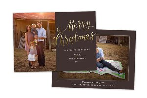Christmas Card Template CC0144