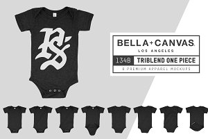 Bella Canvas 134B Triblend One Piece