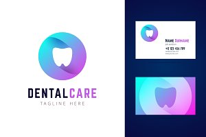 Dental logo and business card