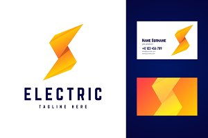 Electric logo and business card