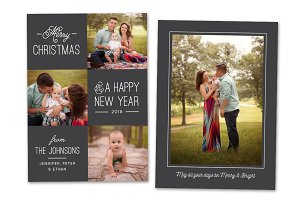 Christmas Card Template CC0142