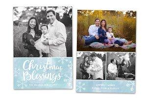 Christmas Card Template CC0142