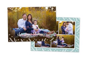 Christmas Card Template CC0147