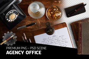 Mad Men agency office - psd file
