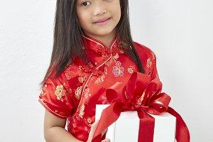 Chinese Girl  New Year 2019