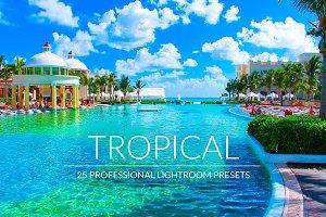 Tropical Lr Presets