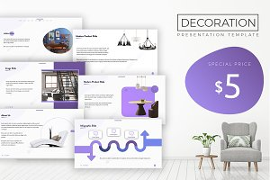 Decoration 2018 PowerPoint Template