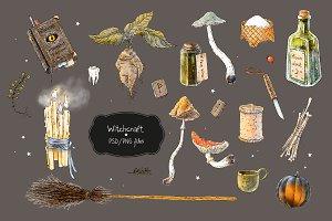 Witchcraft set