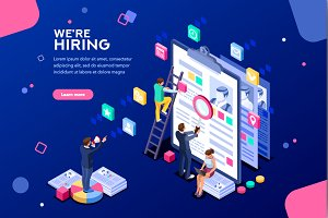 Job Presentation Web Page Banner