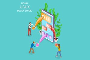 UI and UX design studio