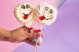 Sweet treat swirl candy Lollipop
