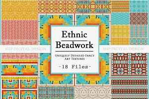 Ethnic Bead & Basket Patterns 1