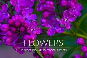 Flowers Lr Presets