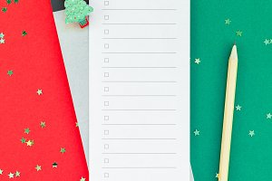 New Year Christmas todo list event p