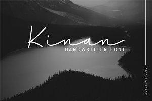 50% OFF | Kinan Script Font