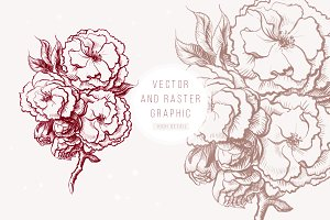 flower graphic decoration