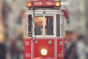 Taksim Tram Istanbul