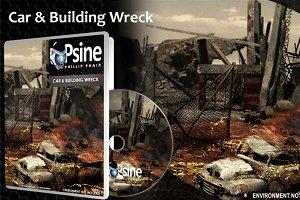 Car & Building Wreck