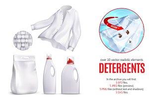 Detergent Realistic Set
