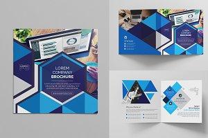 Square Bi-Fold Brochure