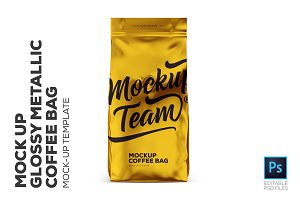 coffee bag mockup photos graphics fonts themes templates