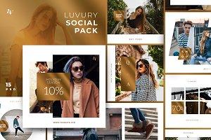 Luvury - Social Media Pack