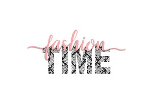 Fashion Time t-shirt fashion print