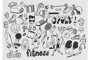 Sport fitness healthy lifestyle