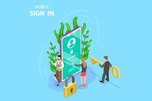 Mobile sign up