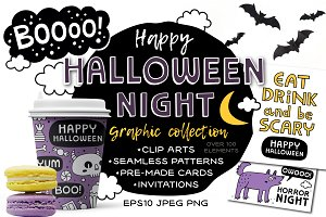 HALLOWEEN NIGHT ☾ Graphic collection