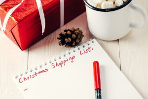 Christmas gifts shopping planning