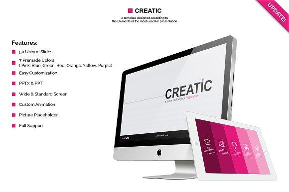 creatic swiss powerpoint template presentation templates