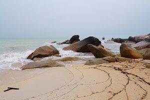The Koh Samui and scenic rock