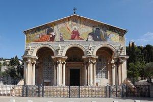 Lush facade of the Church of All Sai