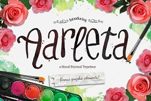 Aarleta Typeface