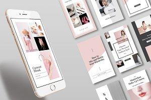 Blogger Instagram Stories Templates