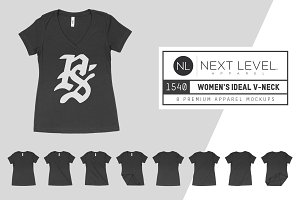 Next Level 1540 Women's Ideal V-Neck