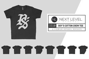 Next Level 3310 Boy's Cotton T-Shirt