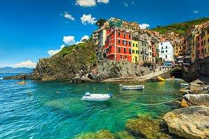 Fantastic Riomaggiore village