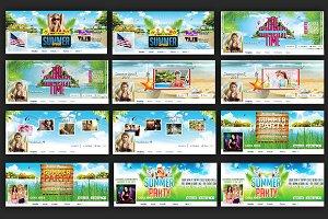 Summer Facebook Timeline Cover