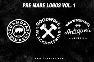 Pre Made Logos Vol. 1