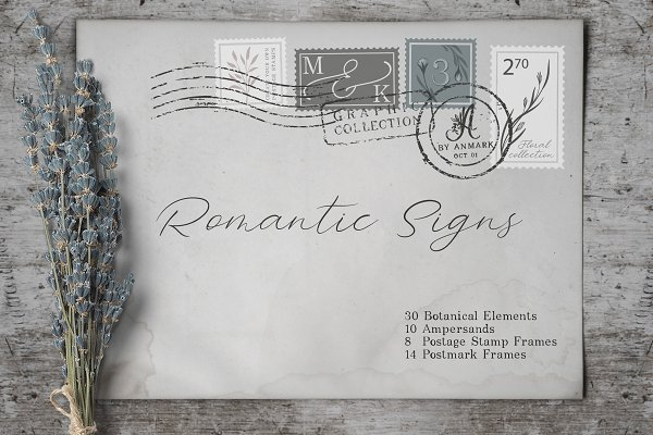 Objects: anmark - Romantic Signs - Graphic Collection