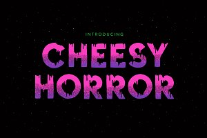 Cheesy Horror Font