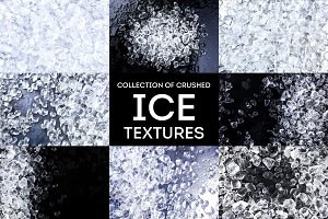 Crushed ice texture
