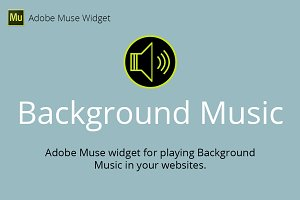 Background Music Adobe Muse Widget