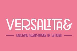 Versalita& - Font