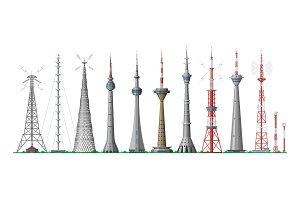 Tower vector global skyline towered