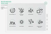 Business value icons