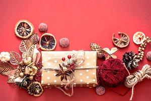 Christmas concept, gift box