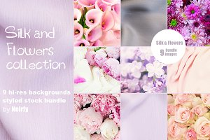 Silk and Flowers collection